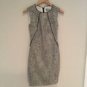 Ava & Aiden Tweed Sheath Dress